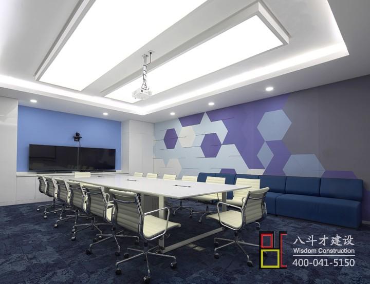 沉稳大气!多元化办公楼会议室设计效果图